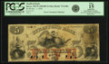 Obsoletes By State:New Hampshire, Dover, NH - Strafford Bank $5 January 1, 1859 NH-75 G48b SENC. PCGS Fine 15 Apparent.. ...