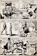 Original Comic Art:Panel Pages, Jack Kirby and Syd Shores Captain America #108 Story Page 3Original Art (Marvel, 1968)....