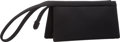 "Luxury Accessories:Bags, Judith Leiber Black Neoprene Clutch Bag. ExcellentCondition. 7.5"" Width x 3.5"" Height x 2"" Depth. ..."