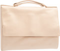 "Luxury Accessories:Bags, Judith Leiber Beige Satin Evening Bag. Very Good Condition. 8"" Width x 6"" Height x 1"" Depth. ..."