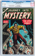 Golden Age (1938-1955):Horror, Journey Into Mystery #19 (Atlas, 1954) CGC VF- 7.5 Cream tooff-white pages....