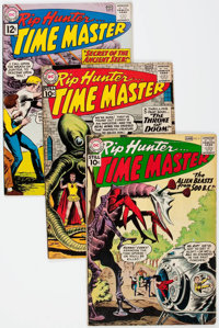 Rip Hunter... Time Master Group of 29 (DC, 1961-65) Condition: Average GD/VG except as noted.... (Total: 29 Comic Books)