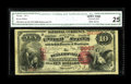 National Bank Notes:Pennsylvania, Sellersville, PA - $10 1875 Fr. 420 The Sellersville NB Ch. # 2667.This is one of only four First Charters known from t...