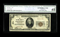 National Bank Notes:Pennsylvania, Phoenixville, PA - $20 1929 Ty. 1 The NB of Phoenixville Ch. # 674.A just plain rare Chester County bank which is actua...