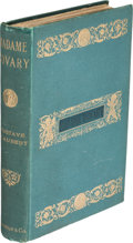 Books:Literature Pre-1900, Gustave Flaubert. Madame Bovary. London: Vizetelly &Co., 1886. ...
