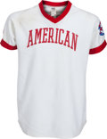 Baseball Collectibles:Uniforms, 1980's Bobby Murcer Game Worn Cracker Jack Old-Timers' Day Jerseyfrom The Bobby Murcer Collection. ...