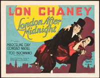 "London After Midnight (MGM, 1927). Title Lobby Card (11"" X 14"")"