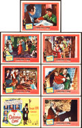 """Movie Posters:Drama, A Christmas Carol (United Artists, 1951). Title Lobby Card and Lobby Cards (6) (11"""" X 14"""").. ... (Total: 7 Items)"""