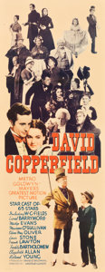 "Movie Posters:Drama, David Copperfield (MGM, 1935). Insert (14"" X 36"").. ..."