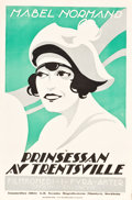 """Movie Posters:Comedy, Back to the Woods (Goldwyn, 1920). Swedish Linocut One Sheet (23.5""""X 35.5""""). Alternate Title: Princess of Trentsville...."""