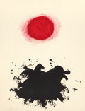 Fine Art - Work on Paper:Print, Adolph Gottlieb (American, 1903-1974). Untitled, from theFlight portfolio, 1971. Lithograph in colors on paper,wit... (Total: 2 Items)