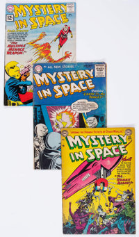 Mystery in Space Group of 12 (DC, 1953-80) Condition: Average VG.... (Total: 12 Comic Books)