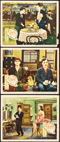 "Movie Posters:Comedy, Modern Times (United Artists, 1936). Lobby Cards (3) (11"" X 14"").... (Total: 3 Items)"