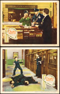 "Movie Posters:Comedy, Modern Times (United Artists, 1936). Lobby Cards (2) (11"" X 14"")..... (Total: 2 Items)"