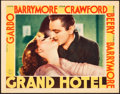 "Movie Posters:Academy Award Winners, Grand Hotel (MGM, 1932). Lobby Card (11"" X 14"").. ..."