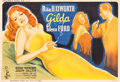"Movie Posters:Film Noir, Gilda (Columbia, 1946). French Double Grande (62.25"" X 91.5"") BorisGrinsson Artwork.. ..."