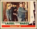 "Movie Posters:Comedy, Pardon Us (MGM, 1931). Lobby Card (11"" X 14"").. ..."