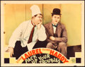 "Movie Posters:Comedy, Pack Up Your Troubles (MGM, 1932). Lobby Card (11"" X 14"").. ..."
