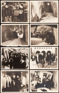 "The Cabinet of Dr. Caligari (Goldwyn, 1920). Photos (27) (11"" X 14""). ... (Total: 27 Items)"