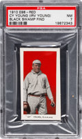 """Baseball Cards:Singles (Pre-1930), 1910 E98 """"Set of 30"""" Cy Young - Red (Black Swamp Find) PSA NM 7...."""