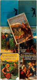 Books:Children's Books, Carolyn Keene. Group of Seven Early Issue Nancy Drew Mysteries,Five in Dust Jacket. Including: ... (Total: 7 Items)