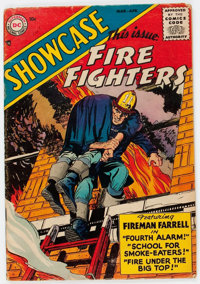 Showcase #1 Fire Fighters (DC, 1956) Condition: VG-