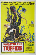 "Movie Posters:Science Fiction, The Day of Triffids (Allied Artists, 1960). One Sheet (27"" X 41"").Based on the novel by John Wyndham, the film begins with ..."