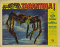"Movie Posters:Science Fiction, Tarantula (Universal, 1955). Lobby Card (11"" X 14""). Jack Arnolddirected this film, considered one of the best horror films..."