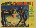 """Movie Posters:Science Fiction, Tarantula (Universal, 1955). Lobby Card (11"""" X 14""""). Reynold Brownartwork highlights this lobby card from one of the best U..."""