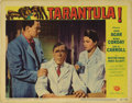 "Movie Posters:Science Fiction, Tarantula (Universal, 1955). Lobby Cards (2) (11"" X 14""). JohnAgar, Mara Corday, and the versatile Leo G. Carroll star in J...(Total: 2 Items)"