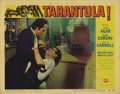 """Movie Posters:Science Fiction, Tarantula (Universal, 1955). Lobby Cards (2) (11"""" X 14""""). Two greatcards featuring Leo G. Carroll, with border art by Reyno... (Total:2 Items)"""