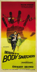 "Movie Posters:Science Fiction, Invasion of the Body Snatchers (Allied Artists, 1956). Three Sheet(41"" X 81""). Kevin McCarthy, Dana Wynter, King Donovan an..."