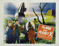"Man from Planet X (United Artists, 1951). Half Sheet (22"" X 28""). Style A. England's early contribution into t..."