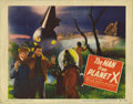 """Movie Posters:Science Fiction, Man from Planet X (United Artists, 1951). Title Lobby Card (11"""" X14""""). Aliens who use mind control in a small Scottish vill..."""