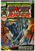 Bronze Age (1970-1979):Horror, Ghost Rider #1 (Marvel, 1973) Condition: FN/VF....