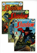 Bronze Age (1970-1979):Miscellaneous, The Shadow #1-3 Group (DC, 1973-74) Condition: Average VF+....(Total: 6 Comic Books)