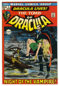 Bronze Age (1970-1979):Horror, Tomb of Dracula #1 (Marvel, 1972) Condition: VF/NM....