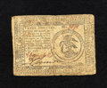 Colonial Notes:Continental Congress Issues, Continental Currency February 17, 1776 $3 Fine. A problem-freeexample for the grade....