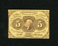 Fractional Currency:First Issue, Fr. 1230 5c First Issue Choice About New++. This note technically grades Choice AU but really has the look of a New note. T...