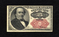 Fractional Currency:Fifth Issue, Fr. 1309 25c Fifth Issue Very Fine. The upper right-hand corner has a pinhole from where the pack this note was originally i...