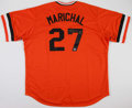 Baseball Collectibles:Uniforms, Juan Marichal Signed San Francisco Giants Jersey....