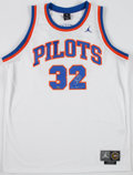 Basketball Collectibles:Uniforms, Jason Kidd Signed High School Pilots Jersey....