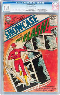 Showcase #4 (DC, 1956) CGC FR/GD 1.5 Cream to off-white pages