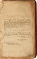 Books:Americana & American History, [An Abridgement of the Laws of Pennsylvania, Being a CompleteDigest of All Such Acts of Assembly, as concern the Common...