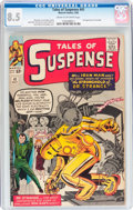 Silver Age (1956-1969):Superhero, Tales of Suspense #41 (Marvel, 1963) CGC VF+ 8.5 Cream to off-white pages....