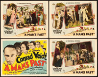 """A Man's Past (Universal, 1927). Title Lobby Card & Lobby Cards (3) (11"""" X 14""""). Drama. ... (Total: 4 Items..."""
