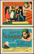 "Movie Posters:Action, The Road to Romance (MGM, 1927). Title Lobby Card and Lobby Card (11"" X 14"").. ... (Total: 2 Items)"