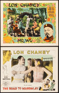 """Movie Posters:Miscellaneous, Lon Chaney Lot (MGM, 1926-1927). Lobby Cards (2) (11"""" X 14"""").. ...(Total: 2 Items)"""