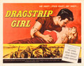 "Movie Posters:Bad Girl, Dragstrip Girl (American International, 1957). Half Sheet (22"" X 28""). Bad Girl.. ..."