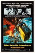 """Movie Posters:War, Where Eagles Dare (MGM, 1968). One Sheet (27"""" X 41"""").. ..."""